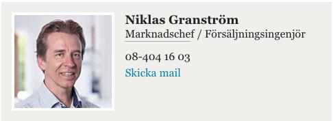 Niklas Gär expert på gasfjädrar