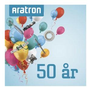 Aratron fyller 50 år!